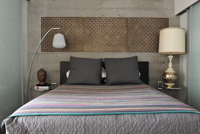 دکور بالای تخت