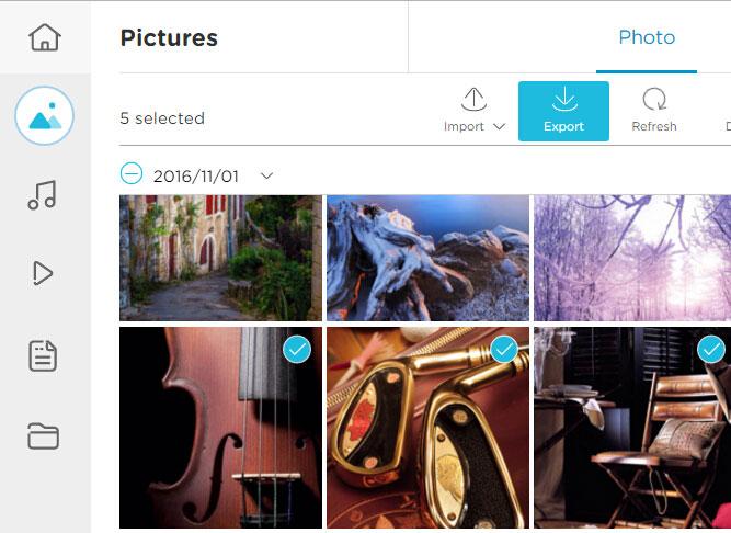 انتقال تصاویر از طریق آیفون به ویندوز 10 به صورت بی سیم Airmore