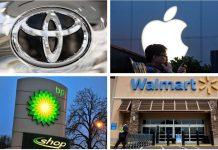 ثروتمندترین شرکتهای دنیا