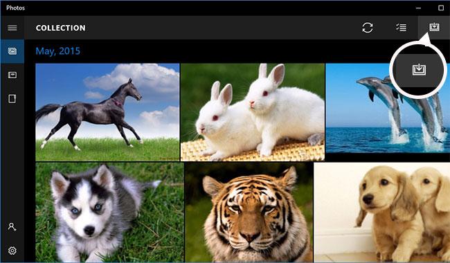 انتقال عکس های آیفون به ویندوز 10 با استفاده از برنامه Windows 10 Photos