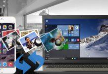 انتقال عکس از آیفون به ویندوز 10