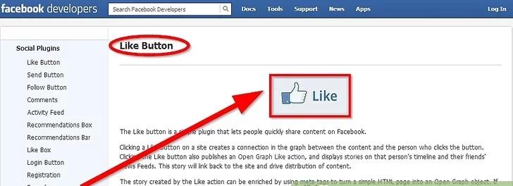 اضافه کردن فیس بوک به وردپرس