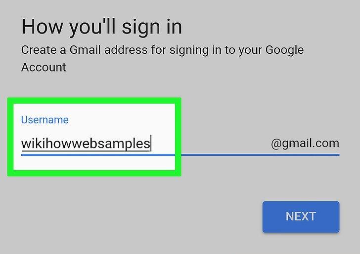 محل تایپ username و یا نام کاربری