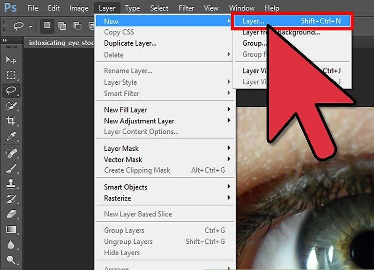 آموزش تغییر رنگ چشم در فتوشاپ CS6