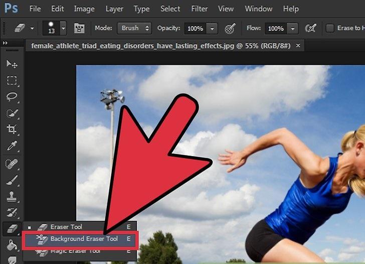آموزش حذف پس زمینه یک تصویر در فتوشاپ