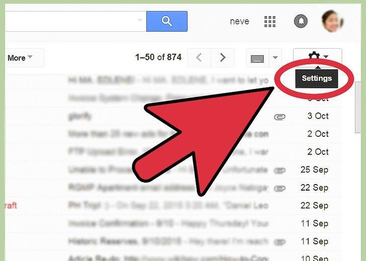 چگونگی تغییر فونت در ایمیل های صندوق پستی جیمیل