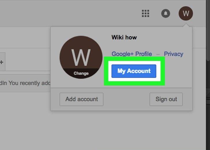 بررسی تنظیمات حساب شما