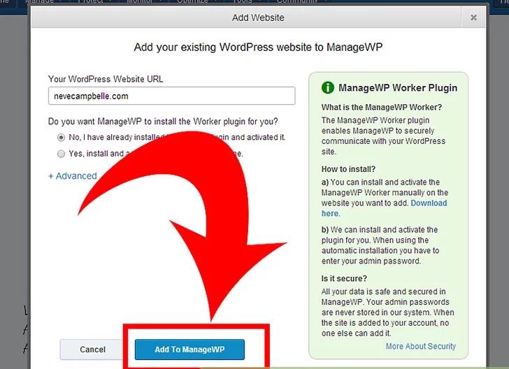 مدیریت وبلاگ های وردپرس با ManageWP.Com