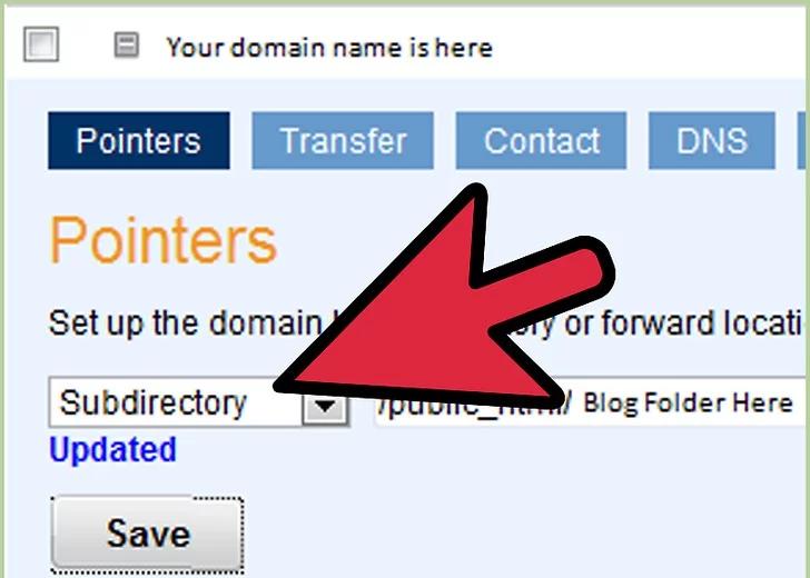 به Domain Central بروید