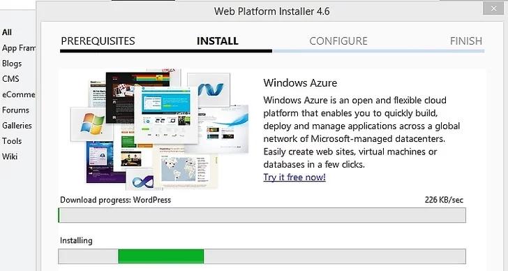 آموزش نصب وردپرس بر روی کامپیوتر ویندوز