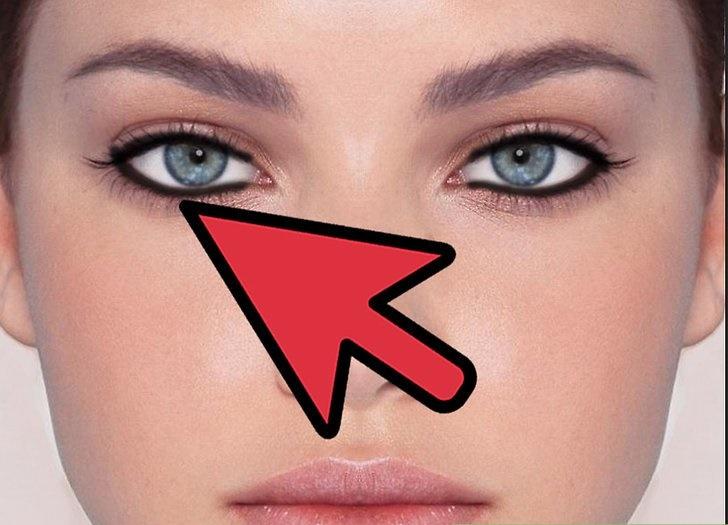 آموزش اعمال خط چشم در فتوشاپ