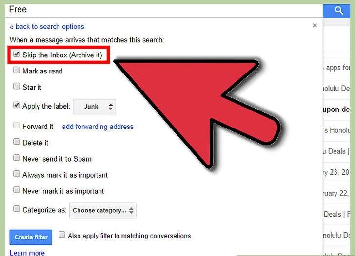 ایجاد فیلتر برای مرتب کردن و اعمال برچسب