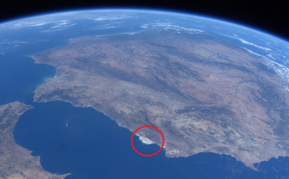 عجایب زمینی که از فضا میتوان آنها را مشاهده کرد: گلخانههای آلمریا در اسپانیا