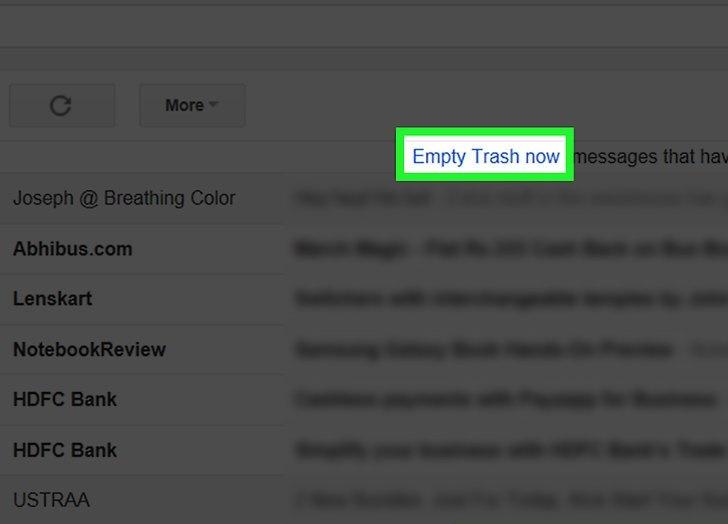 پاک کردن ایمیل قدیمی تر از یک تاریخ خاص