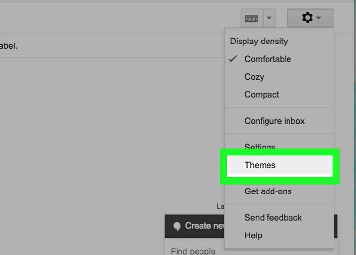 ظاهر ایمیل خود را تغییر دهید