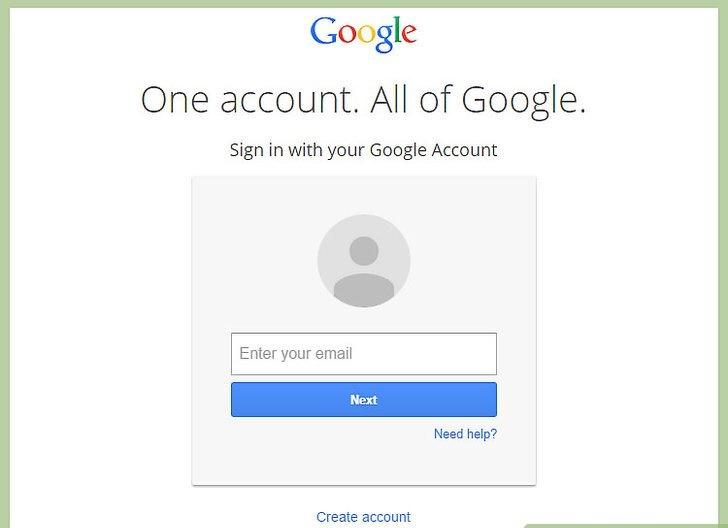 تنظیم حساب Google