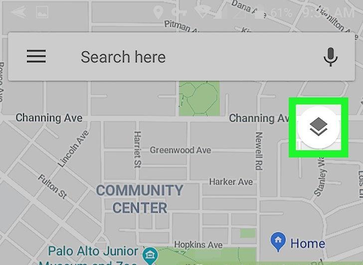 نحوه مشاهده ارتفاع در نقشه های گوگل