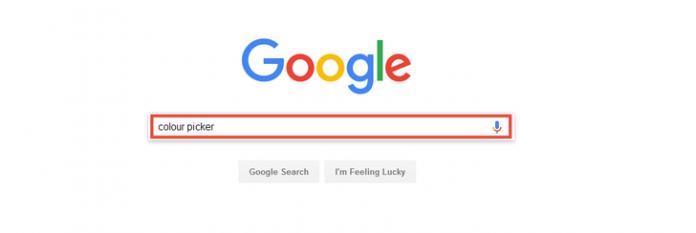 نحوه پیدا کردن کد رنگ ها در گوگل