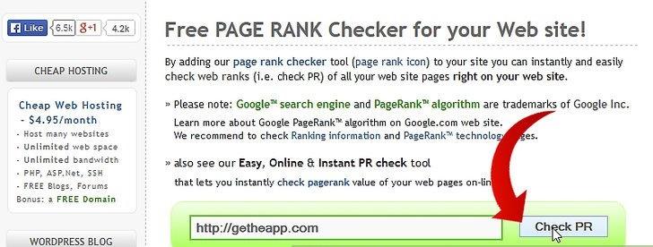 نحوه چک کردن رتبه صفحه گوگل خود را با PRChecker