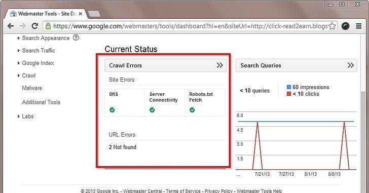 شناسایی لینک های خراب در وب سایت