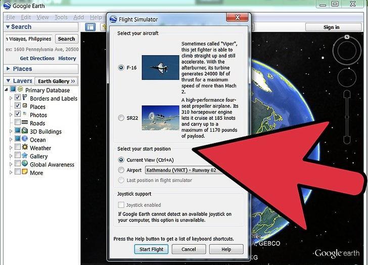 آموزش استفاده از Google Earth