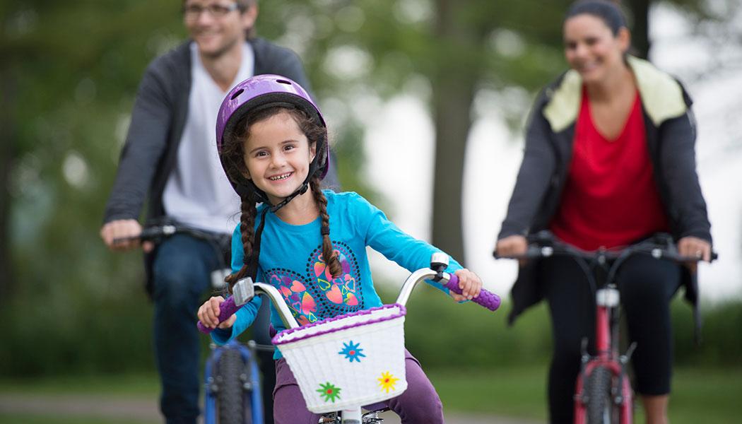 دوچرخه سواری خانوادگی