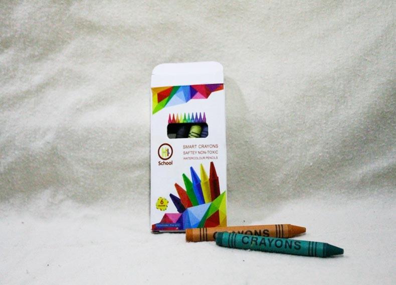 ساخت رؤ لب با مداد شمعی 9