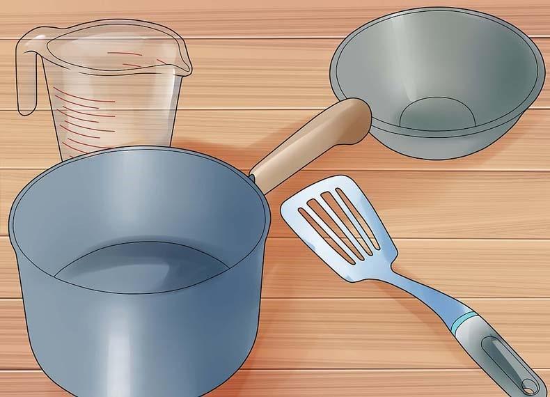 وسایل لازم برای تهیه صابون کاستیا