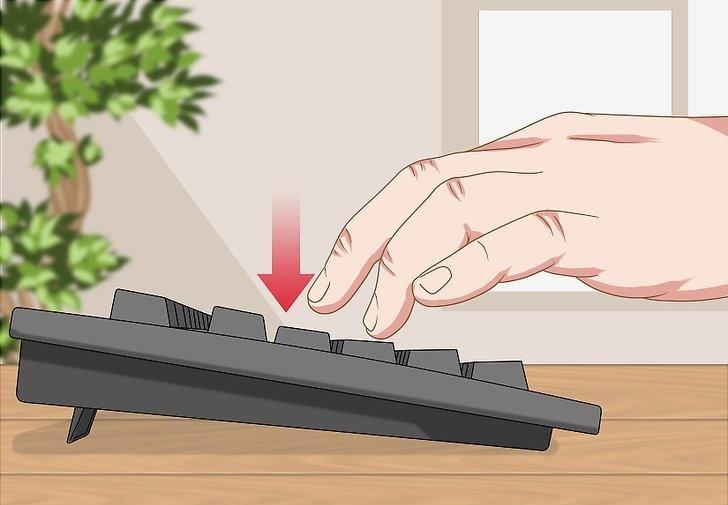نحوه صحیح استفاده از کیبود: فشار لازم برای هر دکمه