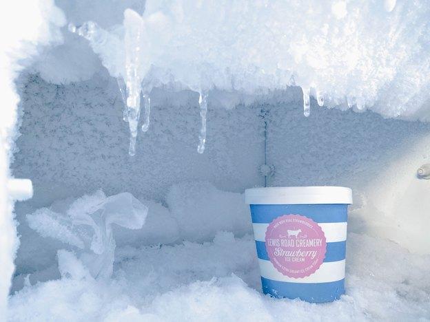 برفک در یخچال