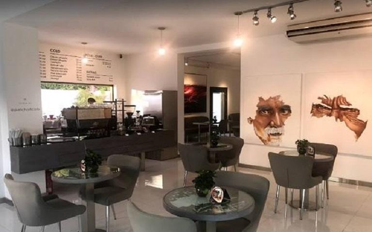 کافه Sketch در دبی یکی از کافه های هنری و زیبا در دبی