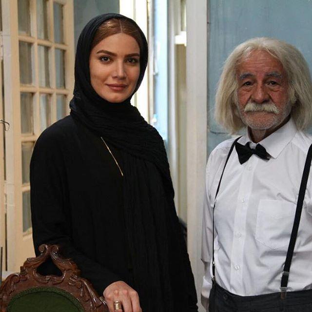 عکس متین ستوده به همراه سعید پورصمیمی