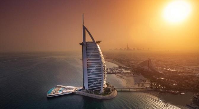 برج العرب دبی کجاست؟