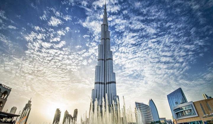 برج خلیفه دبی کجاست