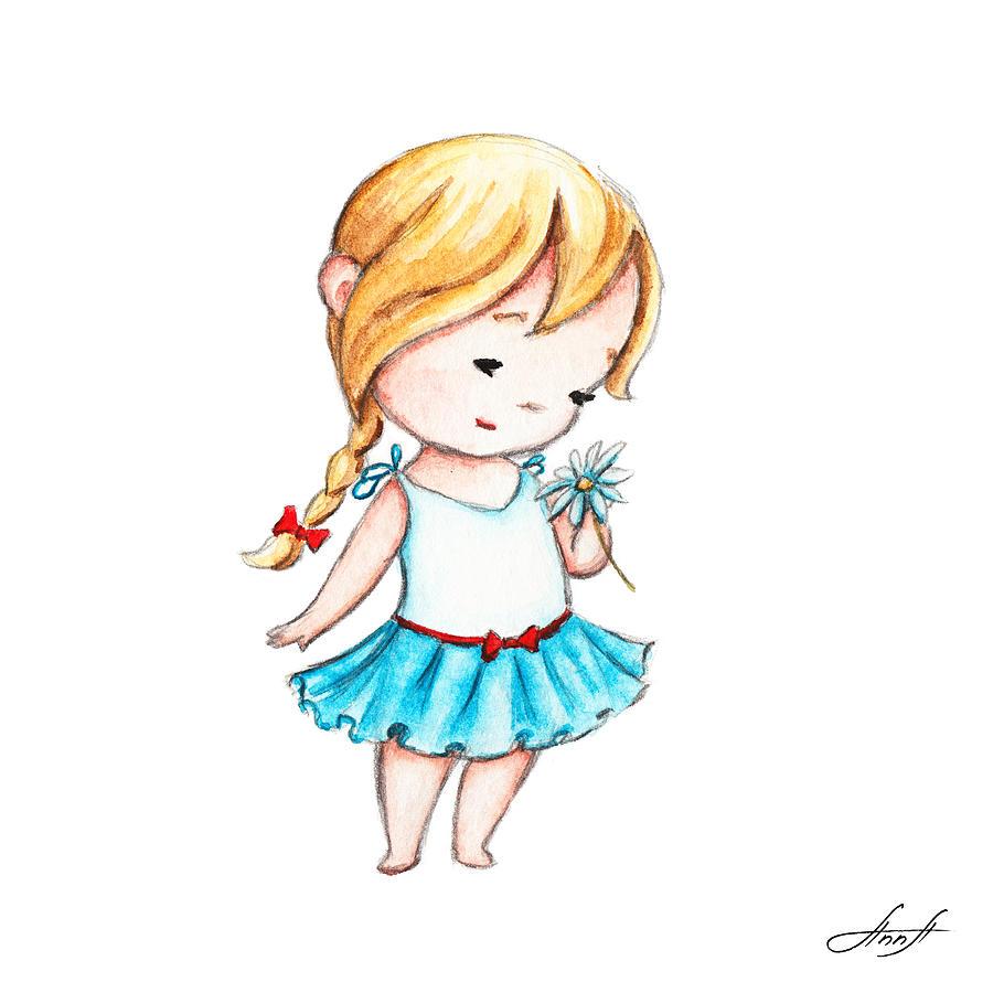 عکس نقاشی فانتزی دخترونه
