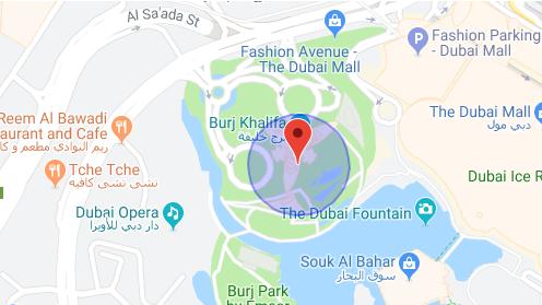 نقشه برج خلیفه دبی