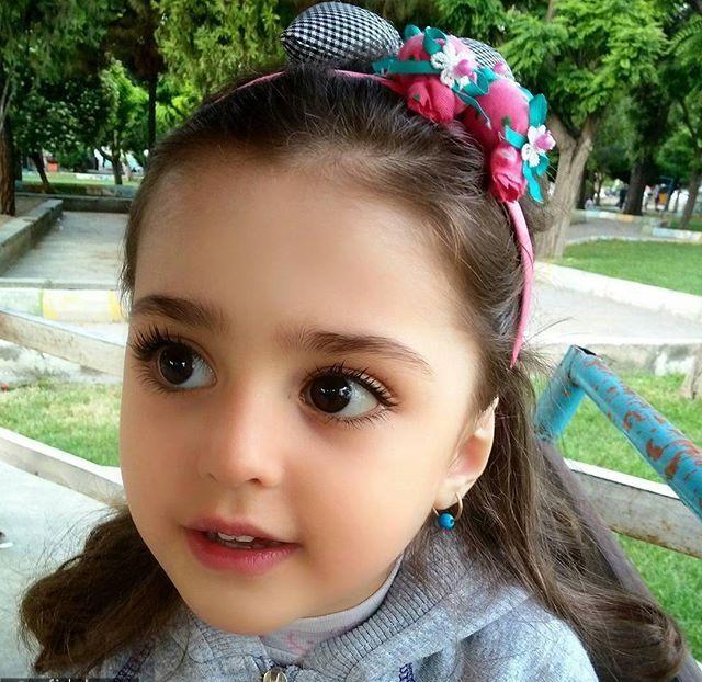 دختر بچه زیبای ایرانی