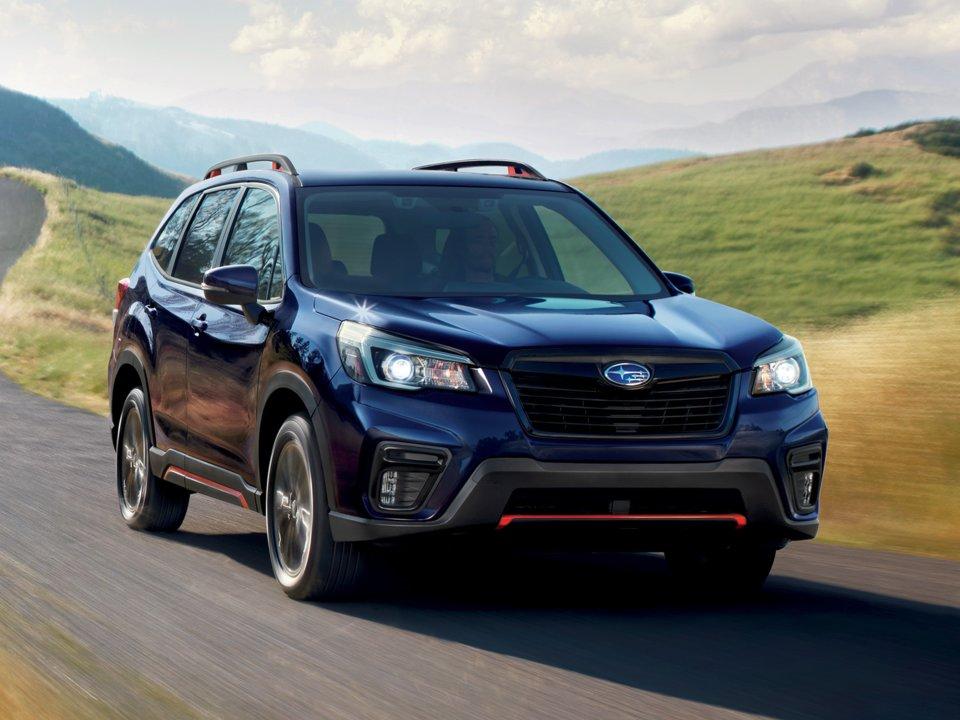 10 ماشین برتر 2019: Subaru Forester