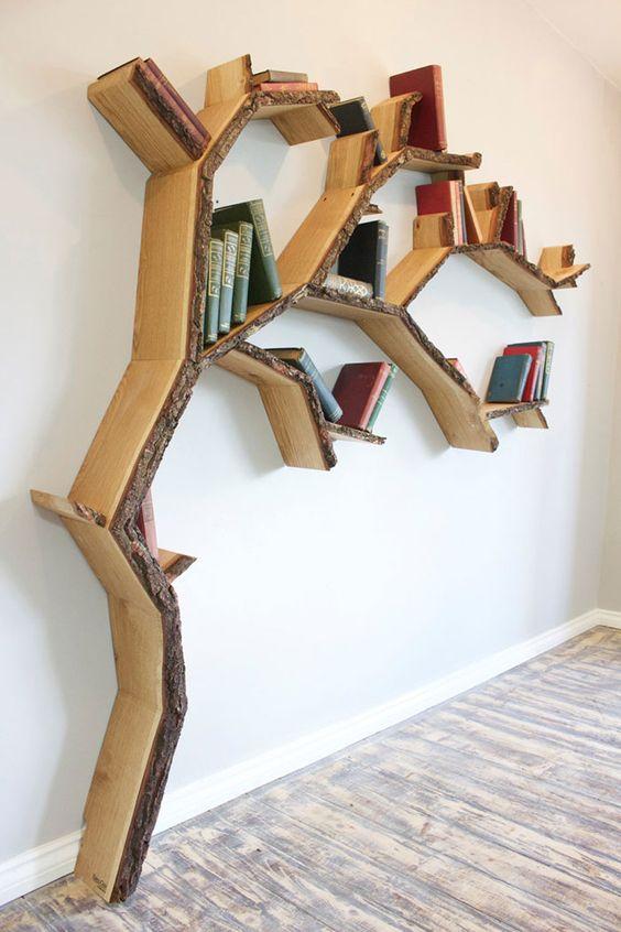 قفس کتاب مدل درختی