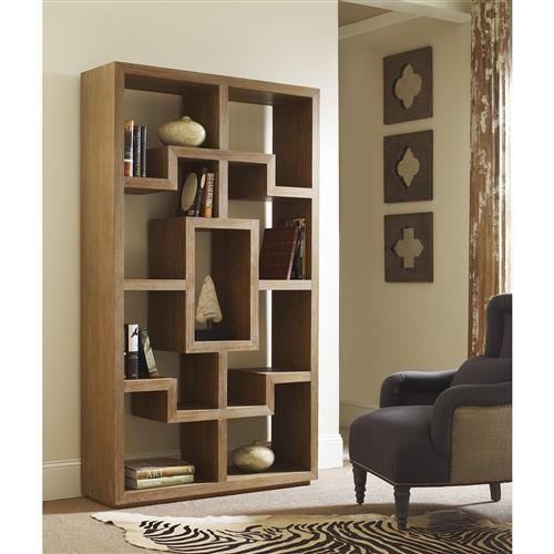 قفسه کتاب زمینی ساده