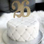 کیک تولد 26 سالگی