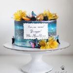 کیک تولد دخترونه زیبا