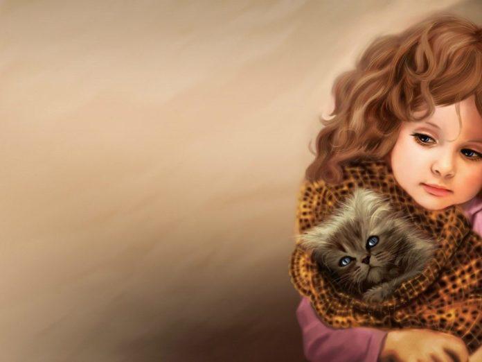گالری از زیباترین عکس نقاشی دختر با سیاه قلم و آبرنگ