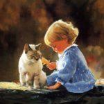 آلبوم عکس نقاشی دختر کوچولو