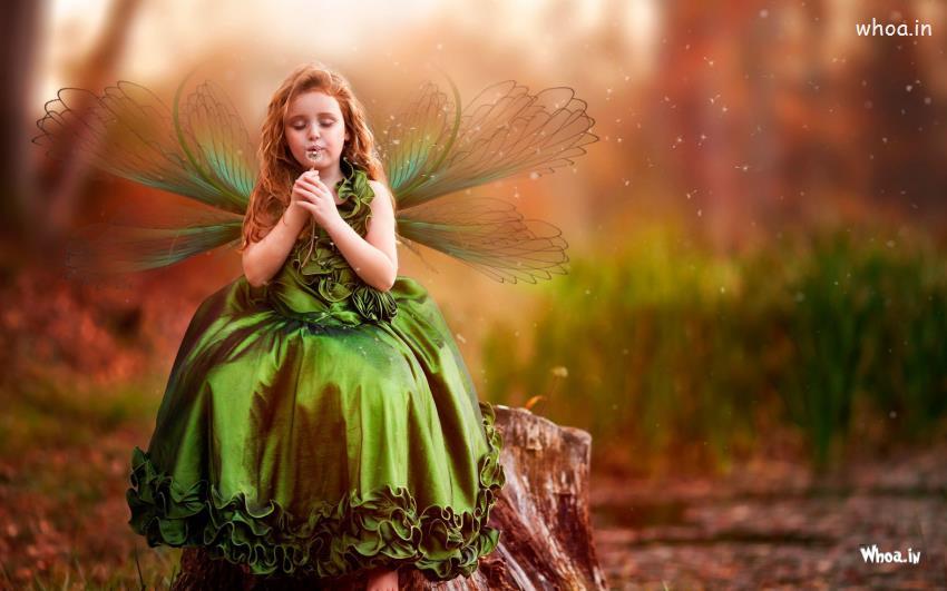 عکس دخترانه فانتزی باحال و پروانه ای