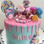 کیک خاص روز دختر