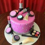 کیک لوازم آرایش به مناسبت روز دختر 2019