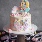 کیک روز دختر پونی کوچولو
