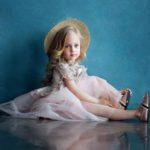 مدل ژست عکس کودک دختر