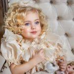 ویولا دیما مدل عکاسی کودک